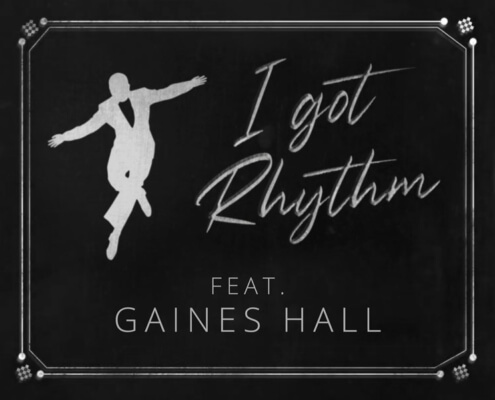 I got Rhythm feat. Gaines Hall – Tobias Deutschmann Orchestra